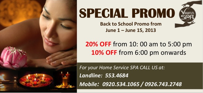 Bodhi spa discount coupons