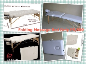 FOLDABLE MASSAGE BED.  Sturdy and perfect for your massage need.
